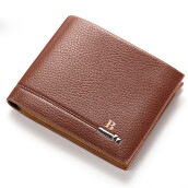 BESSKY Mens Fashion Leather ID Card Holder Billfold Purse Wallet Handbag_