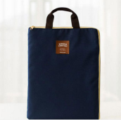 Ins AP-199 ipad1/2/3/4/ipad Pro&Laptop&File Bag-Navy Blue