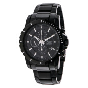 Alexandre Christie AC 6141 MC BIPBA Chronograph Black Dial Stainless Steel [ACF-6141-MCBIPBA]