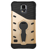 Sentum Samsung S5 Shockproof Armor Silicone PC Cover 360 Degree Rotation Kickstand Holder Phone Case