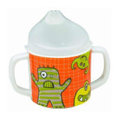 Sugar Boogar Monster Siipy Cup - Orange