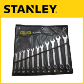 Stanley 11pcs Combination Wrench Set - Black Pouch STMT80942-8