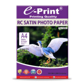 E-PRINT RC Satin Photo Paper A4 260gsm 20 Sheets