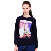 CARVIL Pakaian Wanita Sweater Swift-SP - Navy