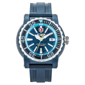Expedition Men Sport Automatic Blue Dial Rubber Strap [EXF-303-MAPSSBABU]