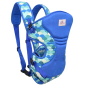 BABY SCOTS Gendongan Bayi Baby Family 2 - Baby Carrier BFG2101 BLUE
