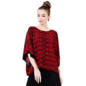 LUIRE Ponco Tangan 10113ZG - Red [All Size]