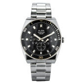 Alba Man Sport Black Dial Stainless Steel Watch [AP6560X1] Silver