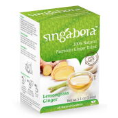 Singabera 100% Natural Premium Ginger Drink – Lemongrass 144g