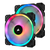CORSAIR LL140 RGB (CO-9050074-WW) - 2 Fan Pack with Lighting Node PRO