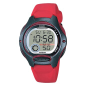 Casio LW-200-4AVDF - 10-Years Battery Life - Rubber Band [LW-200-4AVDF] Red