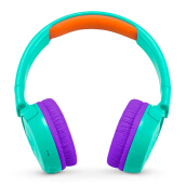 JBL JR 300 BT Kids On-Ear Headphones with Safe Sound Technology - Tropic Teal
