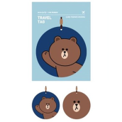 Line Friends Travel Tag