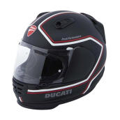 Ducati Red Line Ece Helm Full Face Hitam XL