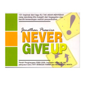 Never Give Up by Jonathan Prawira - Religion Book