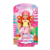 BARBIE Dreamtopia Small Fairy Doll Gumdrop Theme DVM90