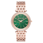 Michael Kors Darci Green Mother of Pearl Dial Rose Gold-tone Stainless Steel [MK3552]