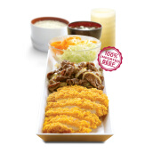 HokBen - Premium Set Beef Yakiniku atau Teriyaki Value Rp 58.000 (Include PB1)
