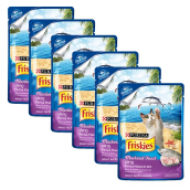 FRISKIES Wet Pouch Mackerel (80g) x6pc