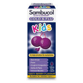 SAMBUCOL Kids Cold And Flu Berry Liquid - 120ml