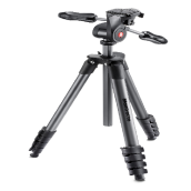 Manfrotto MKCOMPACTADV-BK Compact Advanced Tripod - Black
