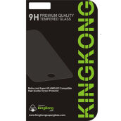 KINGKONG Tempered Glass for Samsung Galaxy A8 2018 Full Cover Black