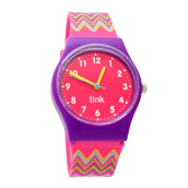 LINKGRAPHIX Playhour PP10 Zigzag (Diameter 34mm) - [Size S] Pink