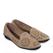 ANYOLORICH Ladies Flat Shoes SM 13 - Cream