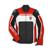 Ducati Corse 14 Leather Jacket Perf (Jaket Kulit)