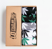 Cool My style CS-1 California skate city Maple leaf socks(about 19cm) five pairs in one set-five colors