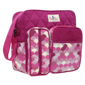 BABY SCOTS Tas Medium Perlengkapan Bayi Baby Family 2 - Diapers Bag BFT2201 PINK