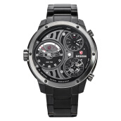 Expedition Man Set Black Dial Stainless Steel [EXF-6742-MTBEPBA] Black
