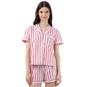 MOODS Stripe Short - Pink [All Size]