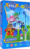 MICROPHONE ANAK ROBOCAR POLI SINGLE