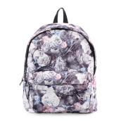 VOITTO Backpack 1716 Flowers - Grey