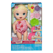 BABY ALIVE Snackin Lily Blonde (B5013) BYAC2697