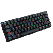 MantisTek® GK3-61 Bluetooth Wired Dual Mode Cherry Switch RGB 60% Mechanical Gaming Keyboard -Black