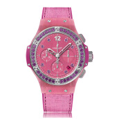 HUBLOT Big Bang Purple Linen 41mm 341.XP.2770.NR.1205 - Limited Edition of 200 Pieces Only