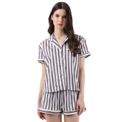 MOODS Stripe Short - Grey [All Size]