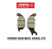 FEDERAL PARTS KAMPAS REM / PAD SET - HONDA NEW BEAT, VARIO, ETC  (FP-06455-KVB-2710)