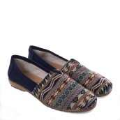 ANYOLORICH Ladies Flat Shoes B 69 - Navy