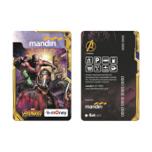 MANDIRI E-Money Avengers Infinity War Edition - GOTG