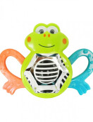 LUCKY BABY Whizzy Activity Rattle - Frog (Assorted Colors)