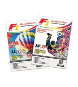 F1 Paper Glosy - Kertas Foto Photo 180 Gsm White 15*10*7.5cm