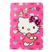 RockWolf New iPad 2018 case Luxury leather + TPU Hello Kitty flip leather case