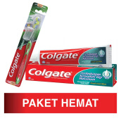 COLGATE Toothpaste Fresh Cool Mint 180g and Toothbrush Twister 1s Package