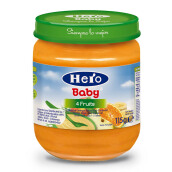 HERO BABY Import Premium Food Four Fruits 115 gr