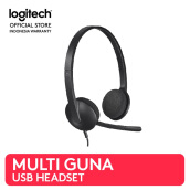 LOGITECH H340 USB Headset for Internet Calls and Music - Black