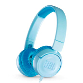 JBL JR 300 Kids On-Ear Headphones with Safe Sound Technology - Blue