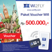 Wi2FLY Voucher Value Rp 500.000